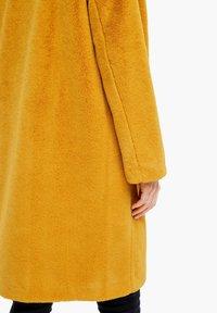 s.Oliver - TEDDY - Winter coat - yellow - 8
