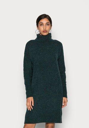 VMKATIE ROLLNECK DRESS - Jumper dress - sea moss melange