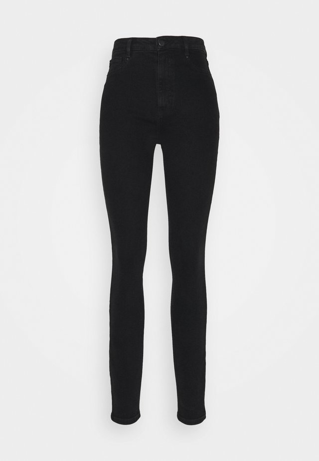 Skinny džíny - black denim