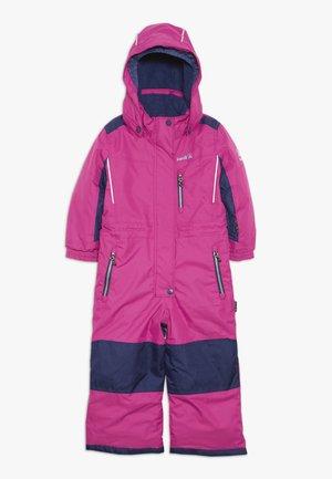 LAZER - Lyžařská kombinéza - neon pink
