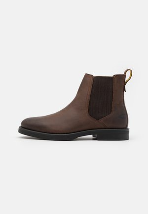 ABBOTT - Classic ankle boots - dark brown