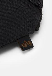 Alpha Industries - WAIST BAG - Bum bag - black - 4