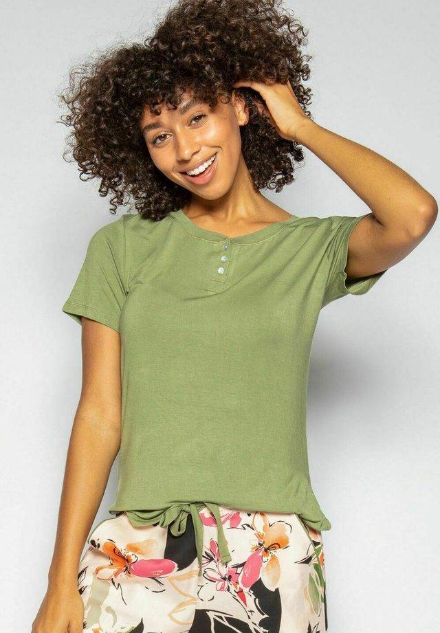 Pyjamasöverdel - green palcket