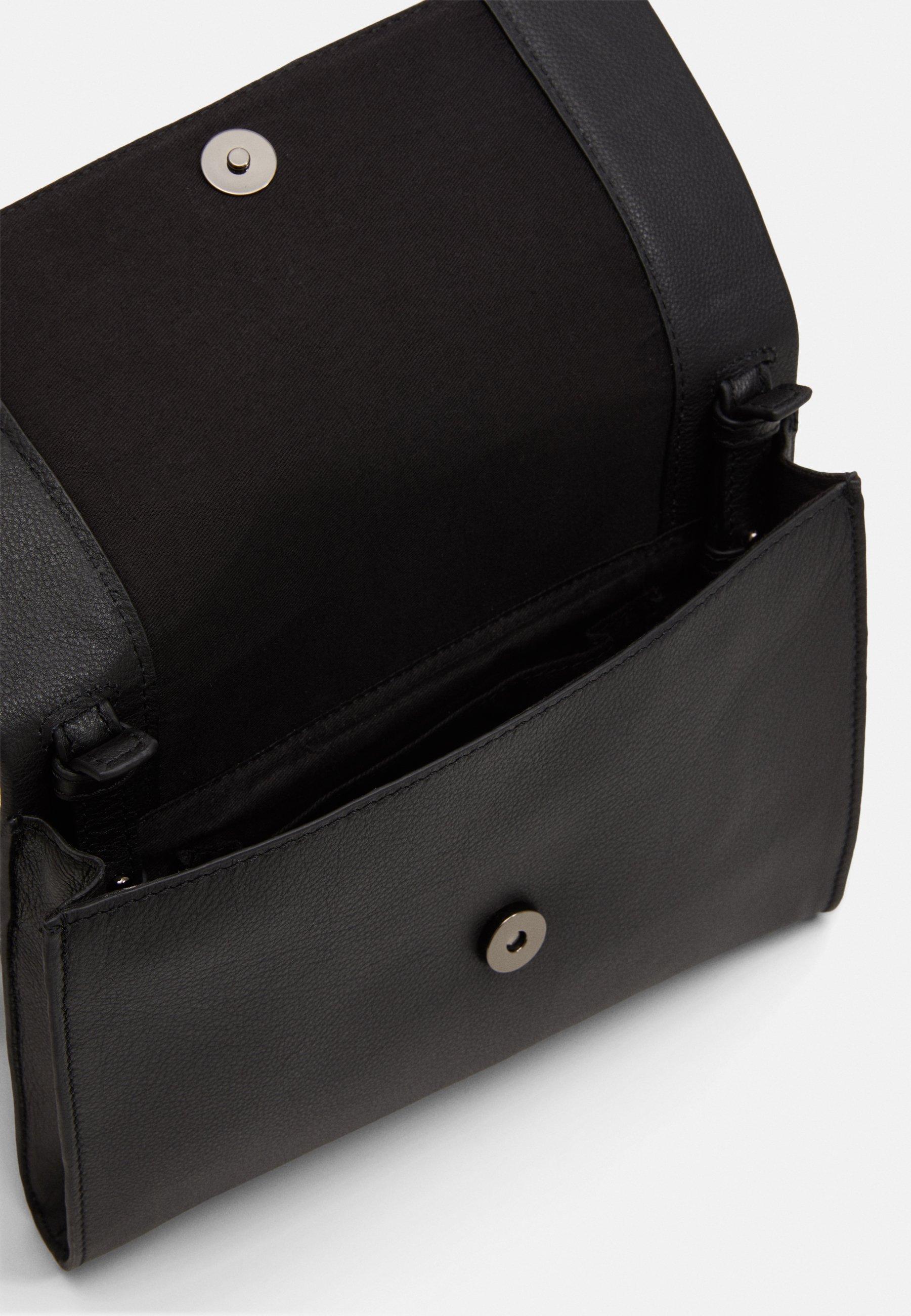Zign LEATHER - Clutch - black/svart Bs2cjUJiVTFKGCd