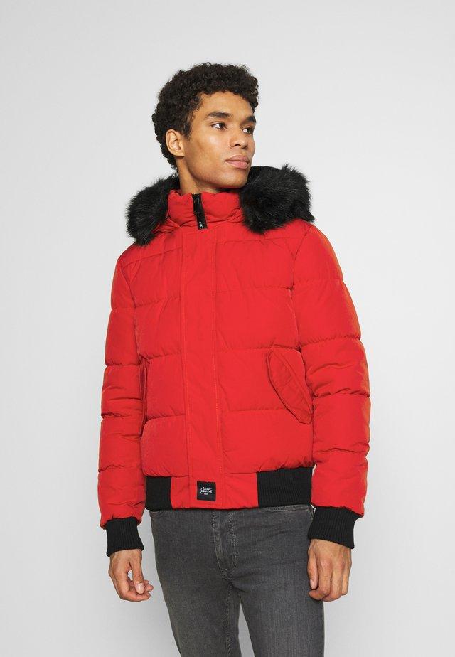 IRRIDESCENT - Veste d'hiver - red/black