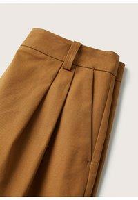 Mango - Trousers - medium brown - 5