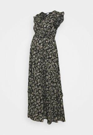 MLHALLY CAP MAXI DRESS - Maxikjole - black/gold
