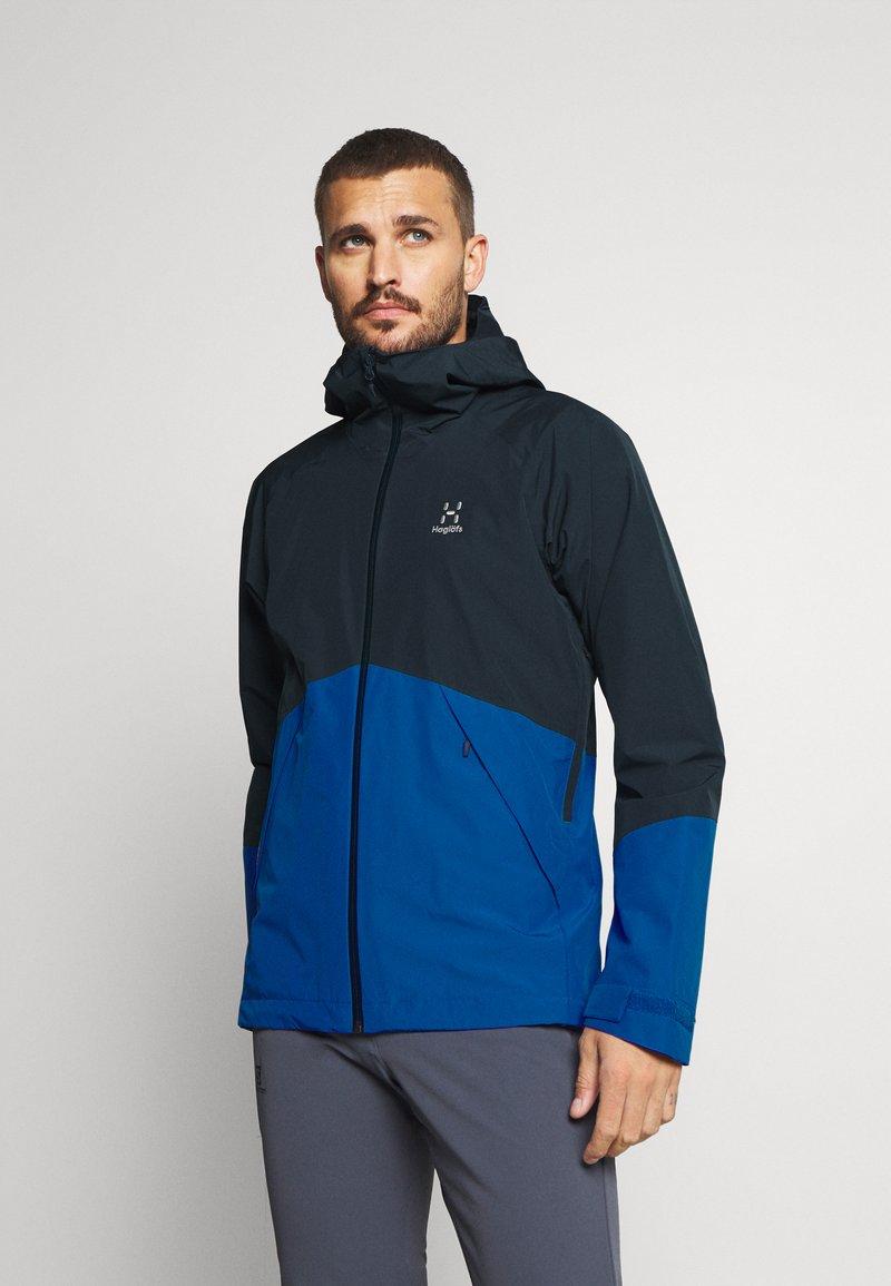 Haglöfs - SKUTA JACKET MEN - Hardshell jacket - tarn blue/storm blue