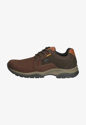 Sportieve veterschoenen - dark brown