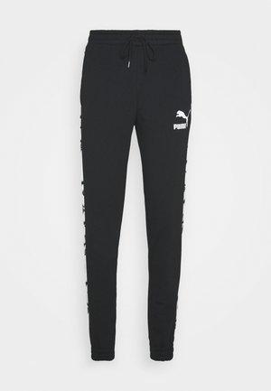 TRACK PANTS - Tracksuit bottoms - black