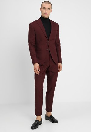 FASHION SUIT - Suit - bordeaux