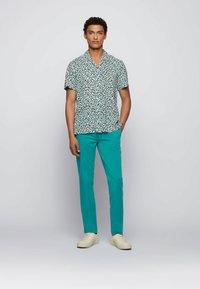 BOSS - SCHINO - Chinos - turquoise - 1