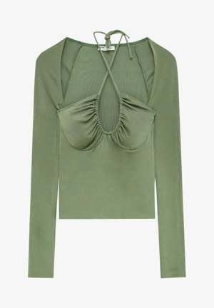 Långärmad tröja - light green