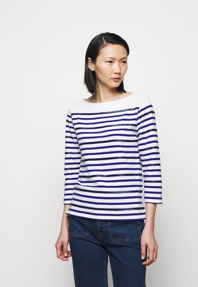 Langarmshirt - deckwash white