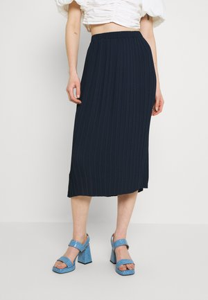 NUABIGAIL SKIRT - A-line skirt - dark sapphire