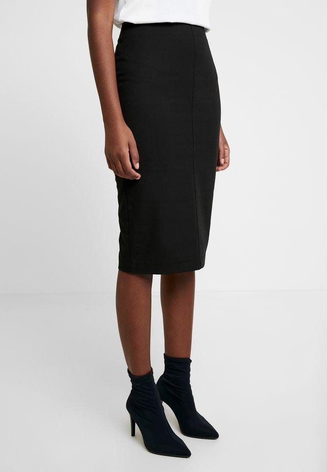 EMILIA SKIRT - Pencil skirt - black