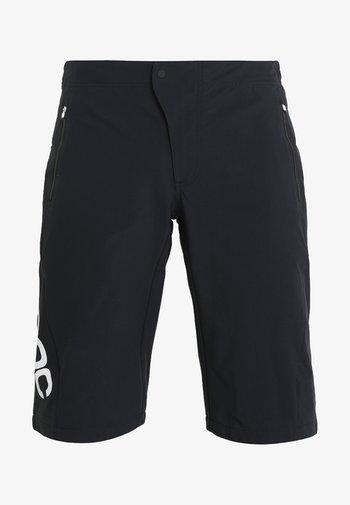 ESSENTIAL ENDURO SHORTS - Sports shorts - uranium black