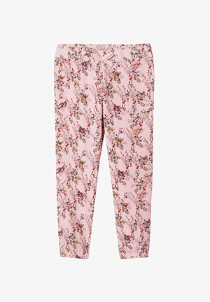 Trousers - coral blush