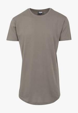 SHAPED LONG TEE DO NOT USE - T-shirt - bas - army green