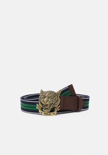 TIGER CASUAL - Belt - french navy/kelly green