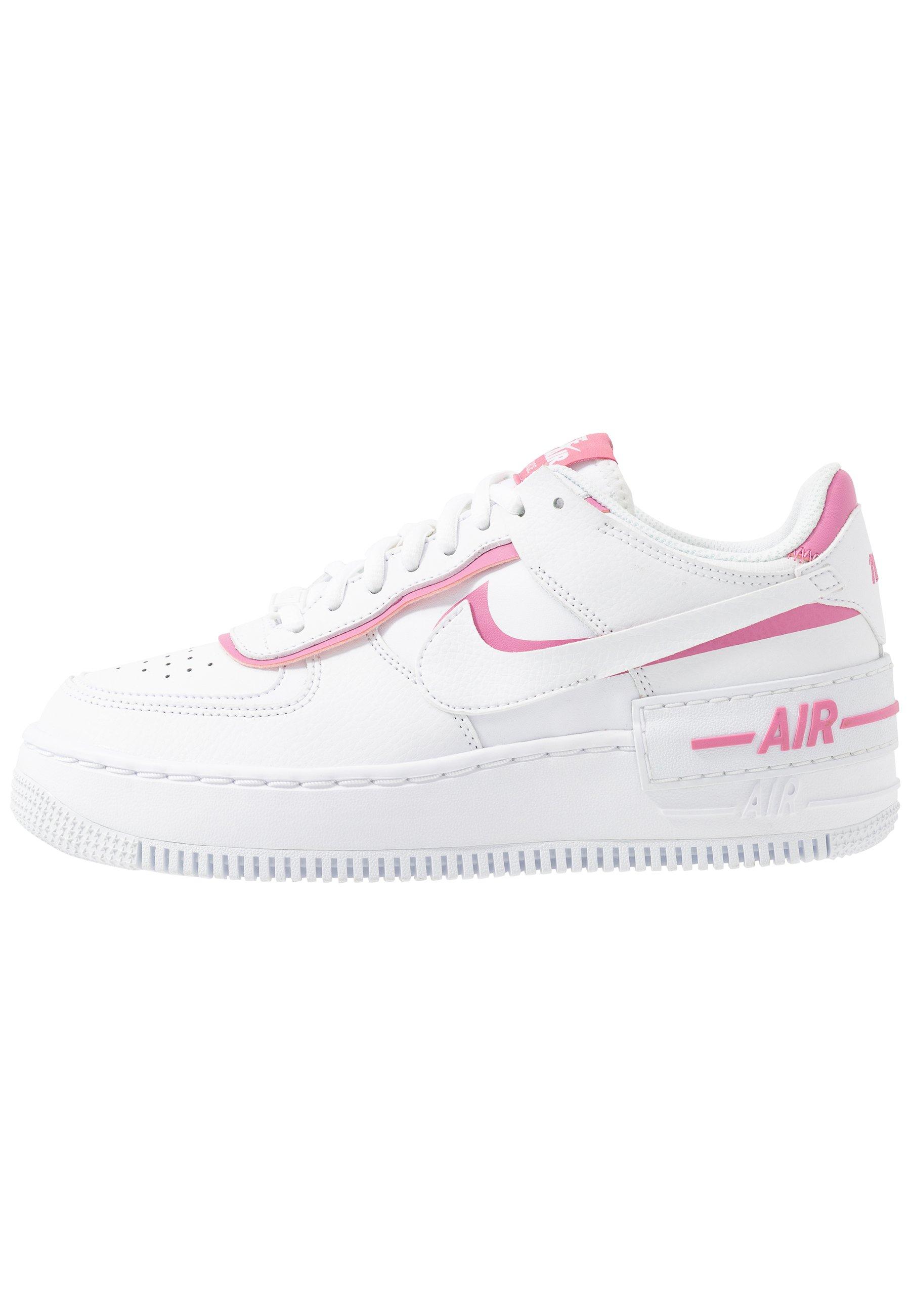 Nike Sportswear AIR FORCE 1 SHADOW - Sneakers basse - white/magic ...