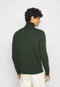 Benetton - BASIC ROLL NECK - Svetr - dark green - 2