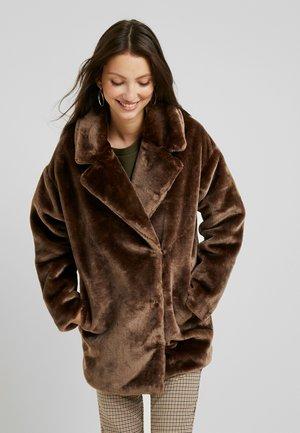 BODIL JACKET - Zimní kabát - taupe