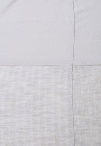 ONLY - OLMNELLA SPLIT SKIRT  - Pencil skirt - oatmeal - 2