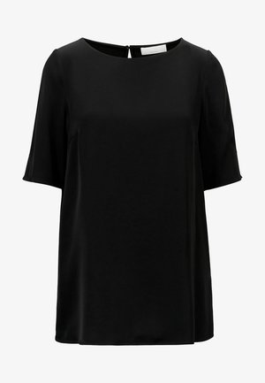 ISATINA - Basic T-shirt - black