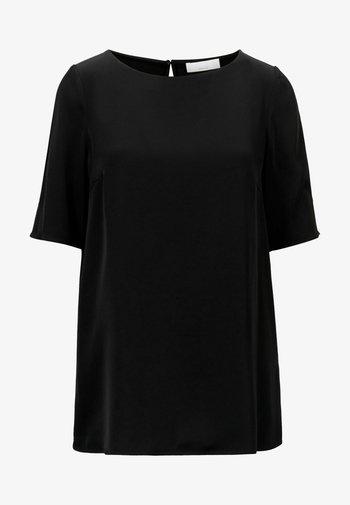 ISATINA - Basic T-shirt - black