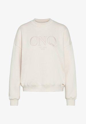 Sweatshirt - sand