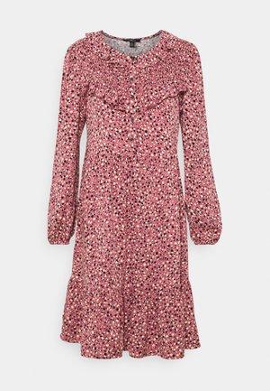 PRINTED DRESS - Skjortekjole - mesa rose
