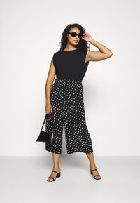 Simply Be - WAFFLE SPOT - Trousers - spot - 1