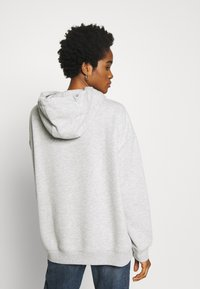 Nly by Nelly - OVERSIZED HOODIE - Hoodie - grey melange - 2