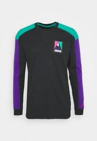 Jordan - MOUNTAINSIDE THERMAL - Long sleeved top - black/neptune green/court purple - 0