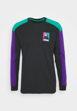 MOUNTAINSIDE THERMAL - Longsleeve - black/neptune green/court purple