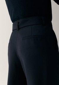 Massimo Dutti - Pantaloni - black - 4