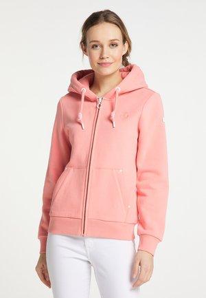 Zip-up sweatshirt - flamingo