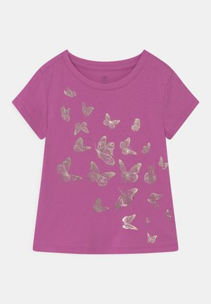 Print T-shirt - budding lilac