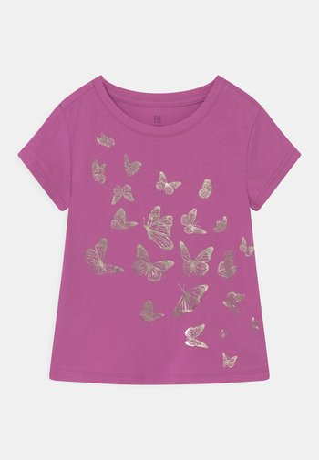 T-shirts print - budding lilac