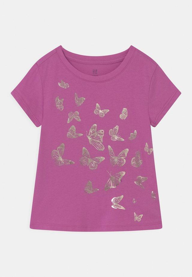 Print T-shirt - budding lilac