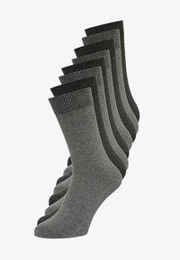 ONLINE ESSENTIAL SOCKS  UNISEX 8 PACK - Socks - dark grey
