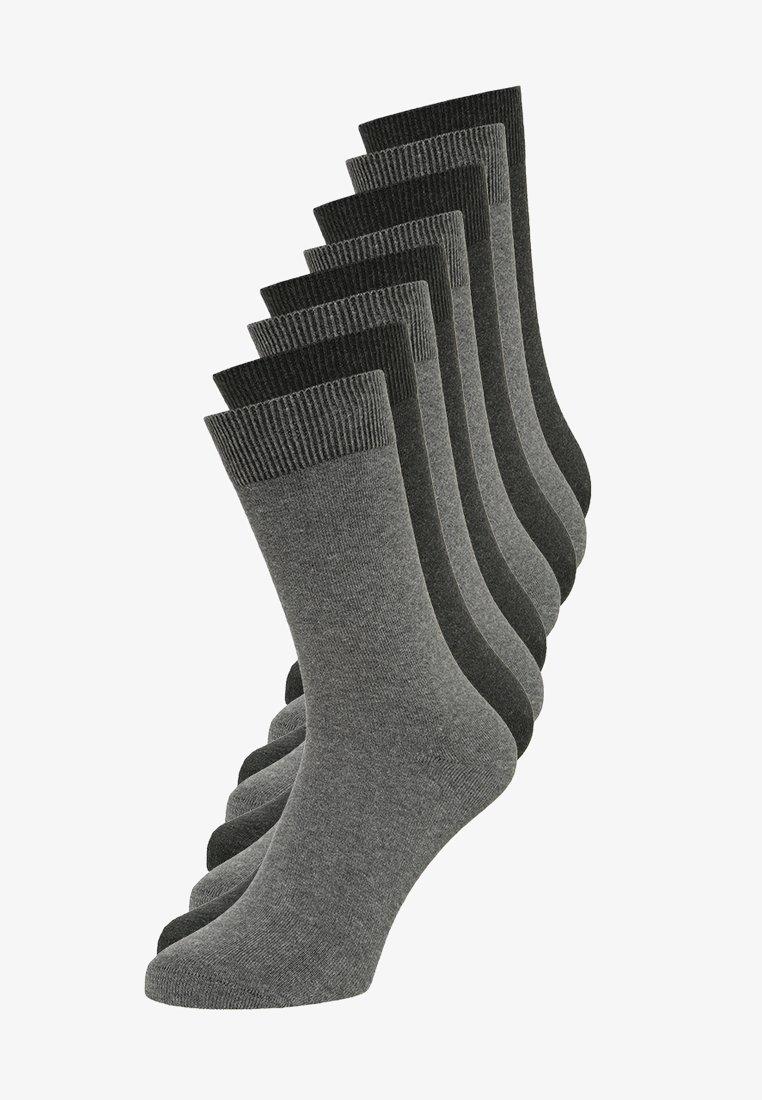 s.Oliver - ONLINE ESSENTIAL SOCKS  UNISEX 8 PACK - Socks - dark grey