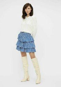 Object - Pleated skirt - sky captain - 1