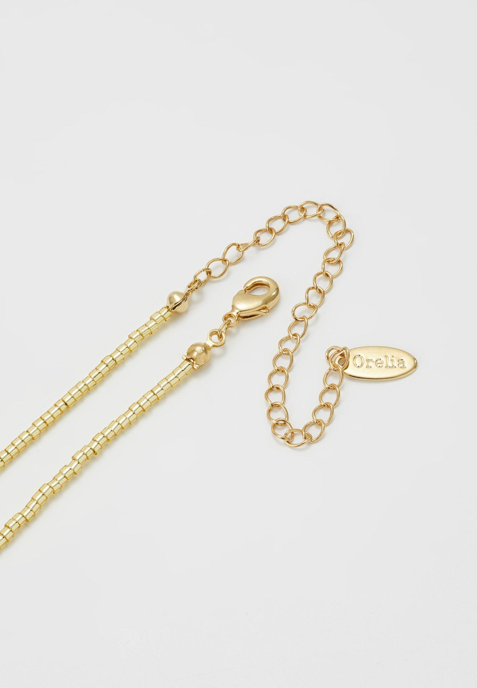 Women SEEDBEAD COIN COLLAR LENGTH - Necklace