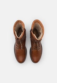 Anna Field - LEATHER - Lace-up boots - cognac - 5