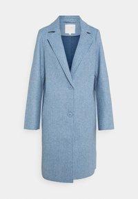 TOM TAILOR DENIM - OPTIC COAT - Classic coat - country blue melange - 0