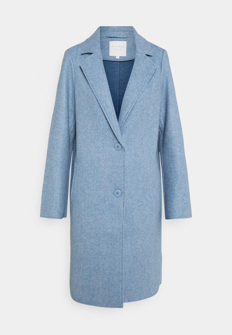 TOM TAILOR DENIM - OPTIC COAT - Classic coat - country blue melange