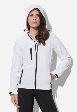 Soft shell jacket - white