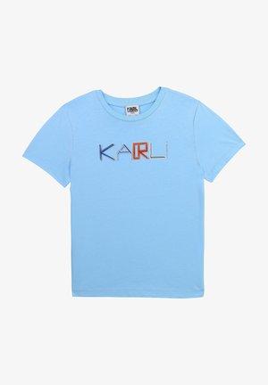 T-shirt imprimé - mineral blue